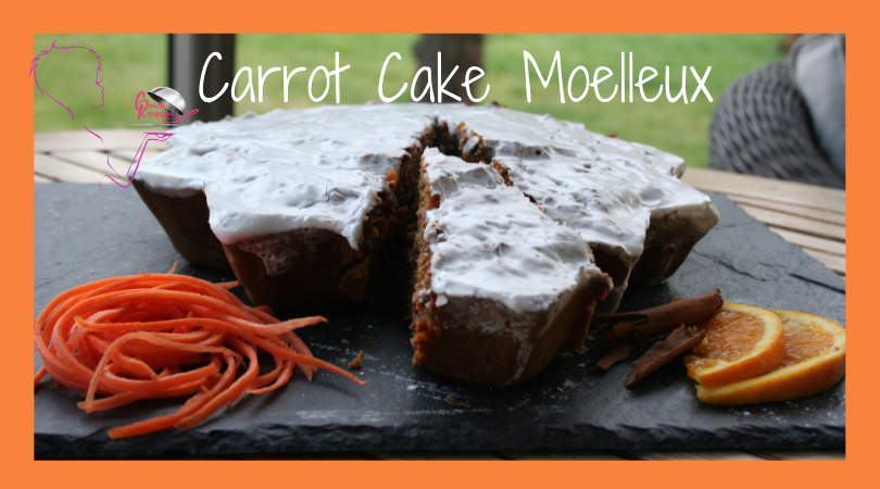 Carrot Cake Moelleux
