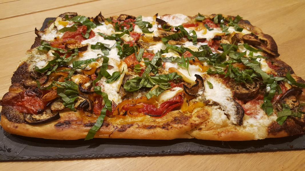 Pizza Légumes & Burrata