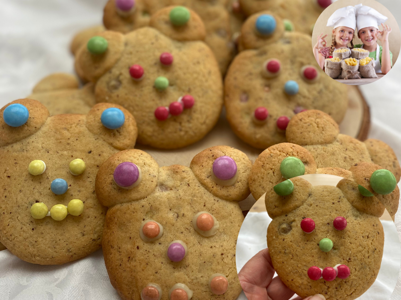 Cookies Oursons Smarties